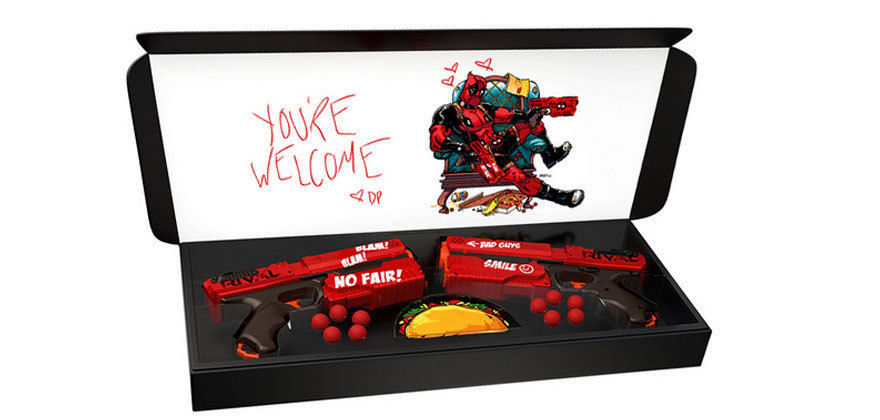 Nerf Rival Deadpool Kronos XVIII-500 Dual Pack LIMITED EDITION GAMESTOP EXCLUSIV