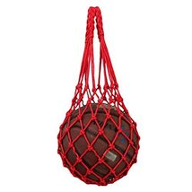 Basketball Soccer Pocket Volleyball Hand-carry Training Bag 70 CM Red - $11.68