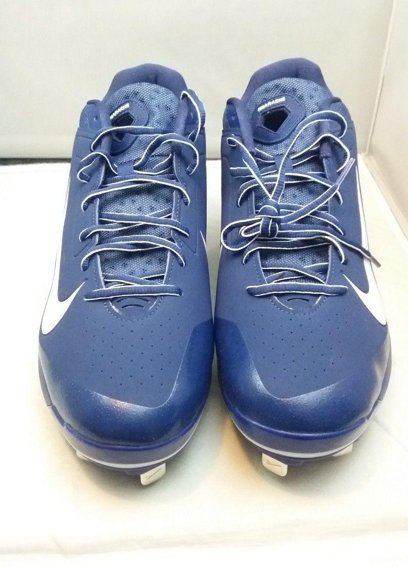 292c495bfe446 S l1600. S l1600. Previous. New Nike 599233-411 Men s Air Huarache Low  Baseball Cleats Size 13.5 Blue