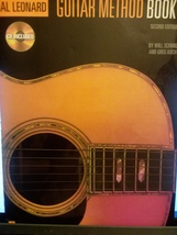 Book With CD Hal Leonard Guitar Method Book 1 Second Edition Will Schmid - $8.99