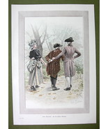 YOUNG LOVERS Love Letter in Wrong hands - COLOR VICTORIAN Era Print - $10.12