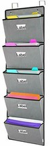Over The Door File Organizer,Wall Mounted Hanging Folder Holder Mail... - $25.64