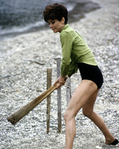 Audrey Hepburn in Two for the Road on set playing cricket 16x20 Canvas Giclee - $69.99