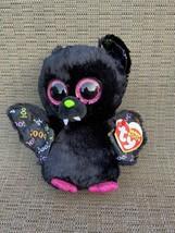 "Ty Beanie Boos DART the Bat 6"" Beanbag Plush Stuffed Animal Toy - $14.75"