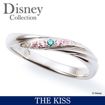 Disney & THE KISS Princess Little Mermaid Ariel Silver 925 Ring Female 4 5 7 - $199.00