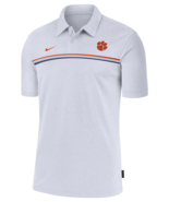 CLEMSON TIGERS COACHES POLO SHIRT- NIKE-EMBROIDERED-ALL SIZES-NWT-$75 RETAIL - $39.98