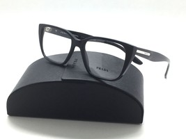 Prada VPR 08T 1AB-1O1 Shiny Black New Authentic Eyeglasses 51mm w/Case - $96.97