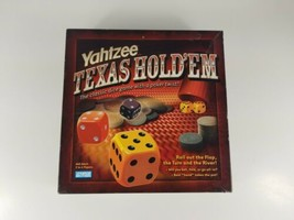 Texas Holdem Yahtzee Dice Game 2004 Hasbro  - $14.95