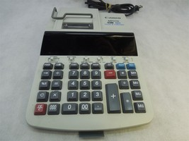 Canon MP27D 2-Color Printing 12 Digit Calculator Date/Time Tax Business - $29.65