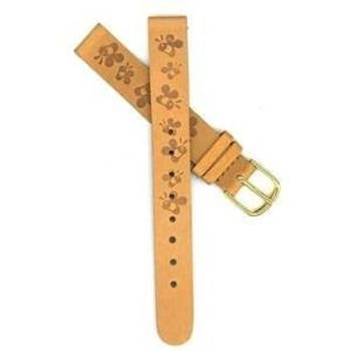 Primary image for DISNEY 12MM BROWN WINNIE THE POOH BUMBLE BEE LEATHER WATCH BAND STRAP