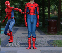 2017 Spider-Man Homecoming Kids Children's 3D Spiderman Cosplay Costume ... - $52.69 CAD
