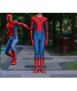 2017 Spider-Man Homecoming Kids Children's 3D Spiderman Cosplay Costume ... - £35.00 GBP
