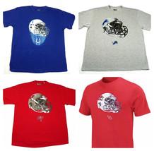 NFL Big & Tall Men's Helmet Logo Tee Shirt Short Sleeve Tee T-Shirt NEW