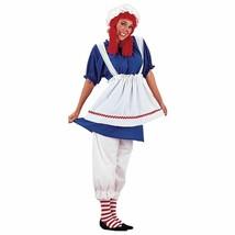 Charades Bambola di Pezza Raggedy Ann Taglie Forti Adulto Donna Halloween - $49.43