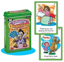 Following Directions Fun Deck Cards - Super Duper Educational Learning T... - $21.49