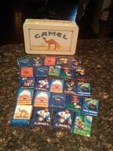 Camel Cigarettes Promo Tin & Matches, Rjrtc, 1991 Rare Classic Design - $22.99