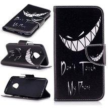 XYX Wallet Phone Case for Moto G5 Plus,[Bad Laugh][Kickstand] Painted De... - $9.88