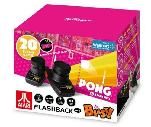Atari Flashback Blast! Pong Retro Gaming System W/ 20 Games                   L4 - $9.97