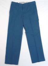 Izod Saltwater Legion Blue Flat Front Casual Pants Mens NWT - $52.49