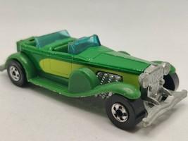 Vintage 1976 Hot Wheels 31 Doozie Toy Car Green Diecast Mattel Hong Kong - $14.95