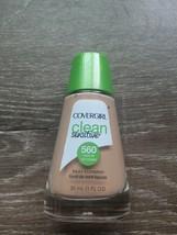 Covergirl Clean Sensitive Liquid Foundation, 560 Classic Tan - $8.77