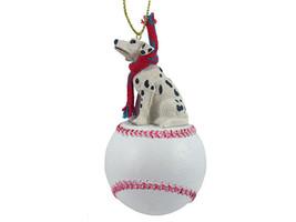 Dalmatian Baseball Ornament - $17.99