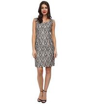 Adrianna Papell Classic Metallic Lace Sheath Dress 22 - $29.70