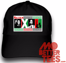 Malcolm X Dad Hat Tribal Design RBG Red Black and Green choose from blac... - $14.99