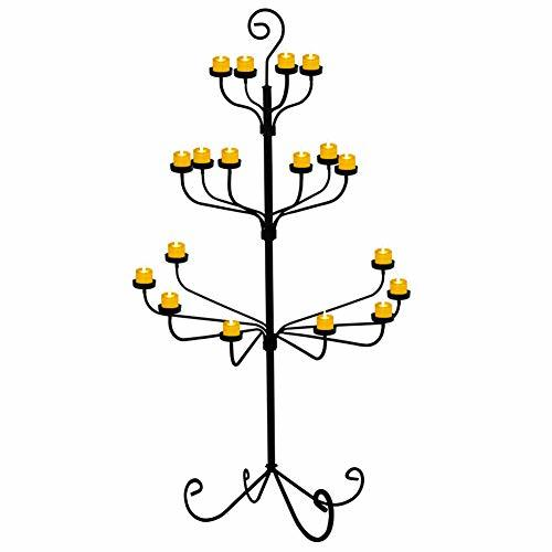 smtyle Tall Votive Candle Holders DIY 18 Floor Candelabra for Tealight Set Weddi