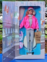 Barbie Doll at Bloomingdales Bloomies Big Brown Shopping Bag 1996 New in... - $19.75