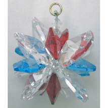 Clear Crystal Snowflake Ornament image 5