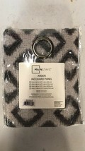 MainStays Adrden Jacquard Grommet Top Dimond Home Curtains Panel 54 x 96 in - $7.91