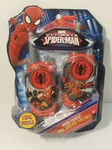 Marvel Spiderman Homecoming FRS Walkie Talkies Kid Friendly Static Free - $11.70