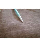 Pin Strip Brown Suit Fabric 2 Yards  60 inches wide - $11.95
