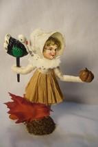 Vintage Inspired Spun Cotton Pilgrim Girl  no. 289 image 2
