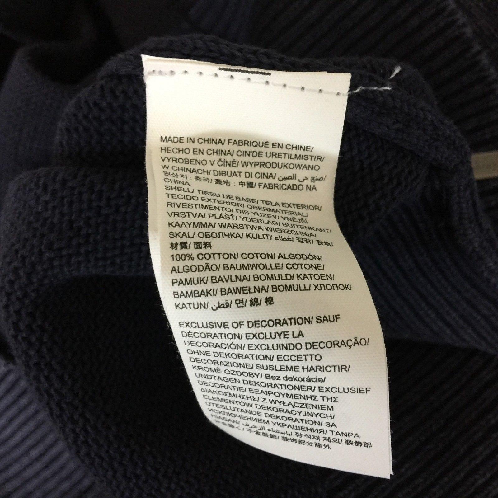 NEW Calvin Klein Jeans XL Jacket Modern Casual Ombre Blue Denim Zip Pocket NWT