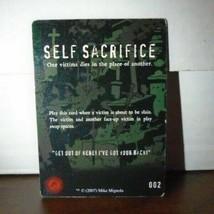 Self Sacrifice 002 Plot Twist Horrorclix - $0.99