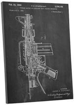 "Pingo World 0302Q74TVOM ""M16 Rifle Patent"" Gallery Wrapped Canvas Print, 48"" x 3 - $133.60"