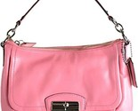 NWT Coach Kristin Leather Flap East West Crossbody Shoulder Bag 22308  Rose Pink