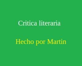 App de critica literaria - $4.00