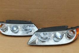 06-07 Hyundai Azera 7-Pin Headlight Head Light Lamps Set L&R - POLISHED