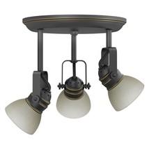 allen + roth Tucana 3-Light Bronze Standard Flush-Mount Fixed Track Ligh... - $3.130,69 MXN