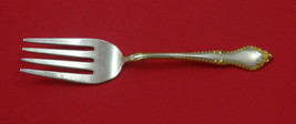 "English Georgian Gold by Lunt Sterling Silver Cold Meat Fork 7 3/4"" - $129.00"