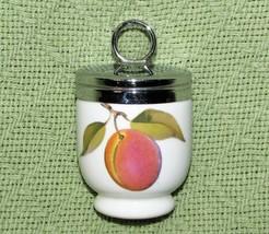 ROYAL WORCESTER EGG CODDLER Porcelain PLUM Red Berries Standard Size EVE... - $16.83