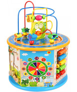 Educational Toys for 1 Year Old Boys Girls Kids Activity Center Board Cube - $69.95