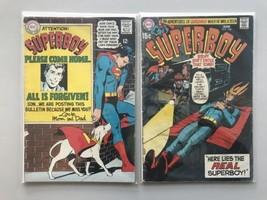 Lot of 2 Superboy (1949-1979 1st Series DC) #146 166 FN Fine - $19.80