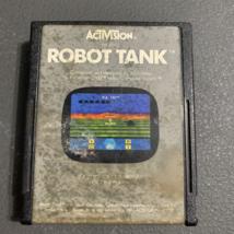 ATARI 2600 Robot Tank tested video game cartridge Activision 3D arcade battle - $2.99