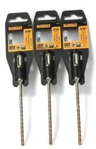 """3 Count DeWalt DW5503 3/16"""" SDS Plus High Impact Carbide 2X Longer Life  - $25.99"""
