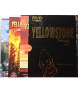 Yellowstone National Park 3 DVD Russ Finley's Collector Edition - $29.65