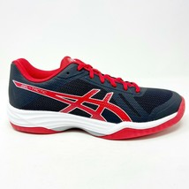 Asics Gel-Tactic Black Prime Red Womens Size 10 Volleyball Shoes B752N 9023 - $64.95